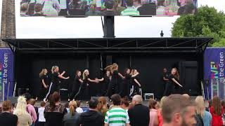Second group contemporary dance | Glasgow Green | Achieve More!