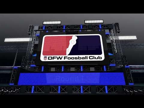Friday Night Foosball From Dallas Texas