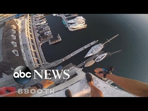 Daredevil Jumps 10-Stories, Narrowly Missing Dock [RAW VIDEO]