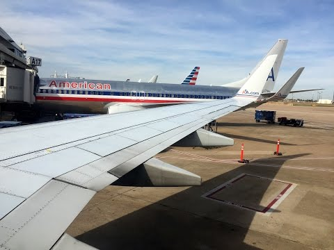 Full Flight | American Airlines 737-800 | Dallas/Fort Worth To Detroit