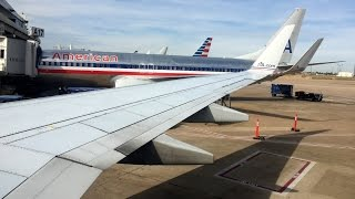 Full Flight | American 737-823 | Dallas/Fort Worth to Detroit