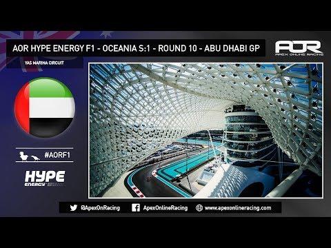 F1 2017 - AOR XB1 Oceania F1 - Season 14 - Round 10 - Abu Dhabi GP