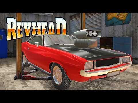 OUR FIRST DRAG RACER! Street Drag Racing and Unlocking the Desert Race - Revhead Gameplay Ep 4