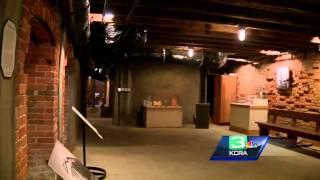Go a tour underground in Old Sacramento