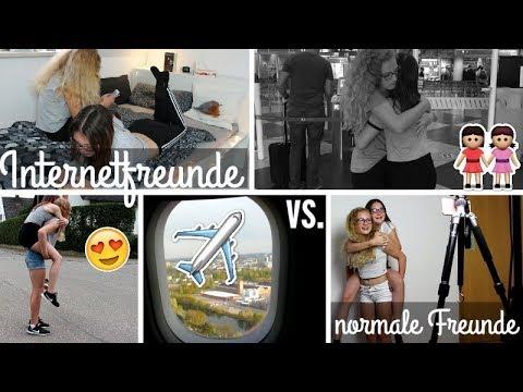 "Internetfreunde vs ""normale Freunde"" mit IBF Leonie4ever"