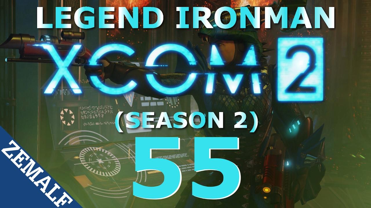 Let's Play XCOM 2 Legend Ironman - Part 55 (Gilded Stroke)