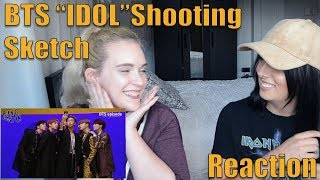 "Bts ""idol"" Shooting Sketch Reaction"