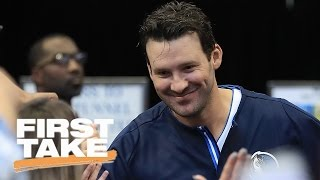 Will tony romo return to cowboys? | first take | may 12, 2017