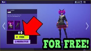 HOW TO GET LACE SKIN FOR FREE! (Fortnite Old Skins)