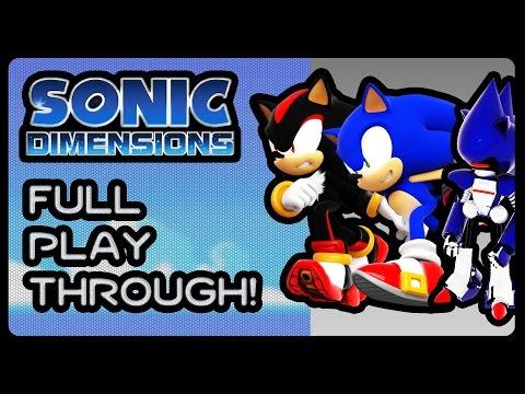 Sonic Dimensions - Full Playthrough! (4K/60fps)