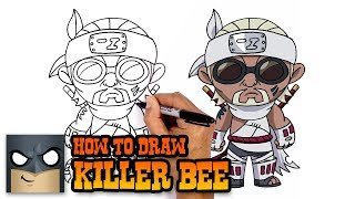 How to Draw Killer Bee | Naruto
