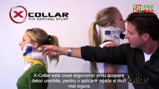 X-Collar - imobilizator complet pentru coloana cervicala