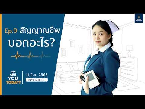 How are you today? EP.9 สัญญาณชีพบอกอะไร (การอ่านค่าสัญญาณชีพ)