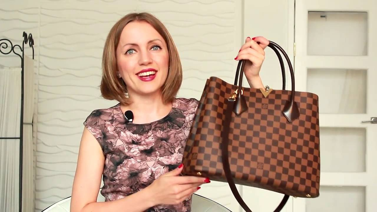 9c00d85ecf13 Louis Vuitton Kensington Bag Review   What s in My Bag - YouTube