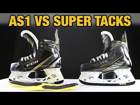 CCM Hockey Super Tacks AS1 VS Super Tacks Skate Review