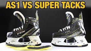 CCM Hockey Super Tacks AS1 VS Super Tacks Skate Review