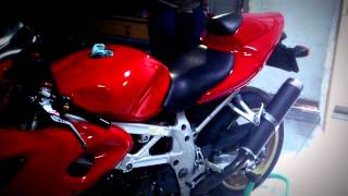 Suzuki TL1000S with Vick Exhaust