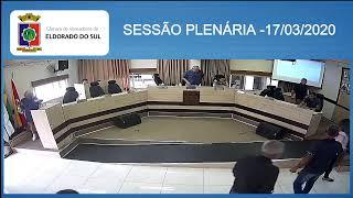 SESSÃO PLENÁRIA - 17/03/2020