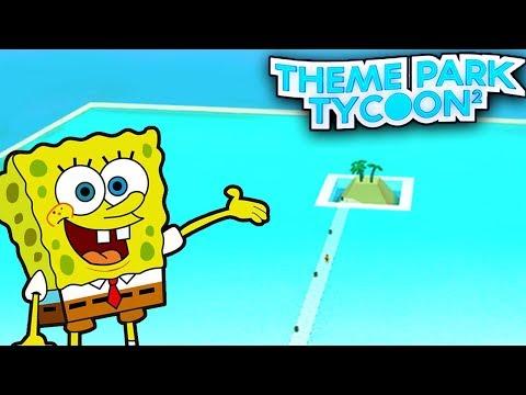 UNDERWATER Bikini Bottom Park!! - Theme Park Tycoon   Roblox