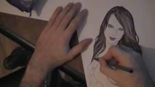 Repeat youtube video Draw a Nude  bryci 1 (kako se crata  hemijskom olovkom )