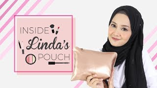 Isi Makeup Pouch Linda Kayhz | Inside Her Makeup Pouch