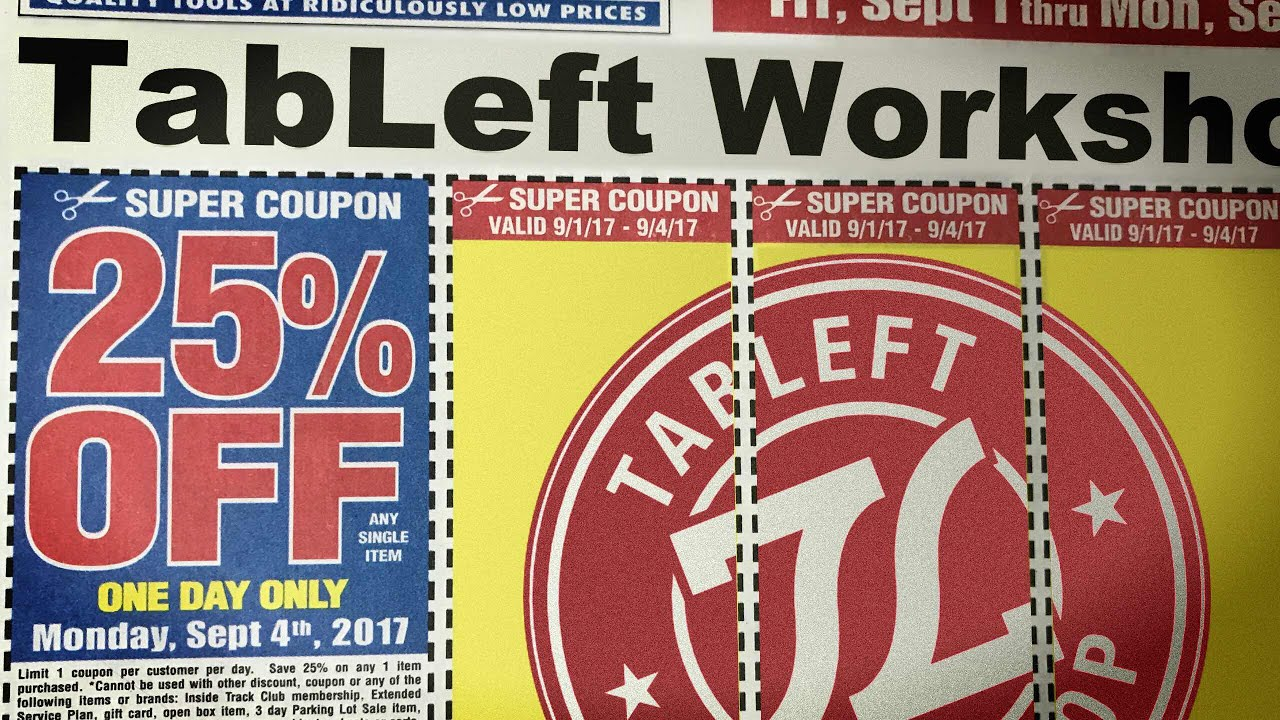 Tip Instant Harbor Freight Coupons Anytime Anywhere Youtube