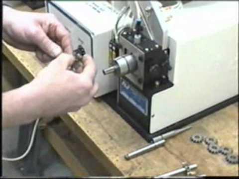 Arp 1 External Retaining Ring Installation Machine Youtube