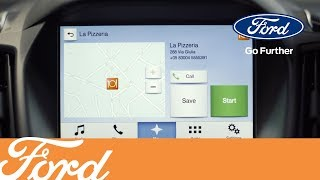 Ford SYNC 3 - Гид Мишлен   Ford Russia