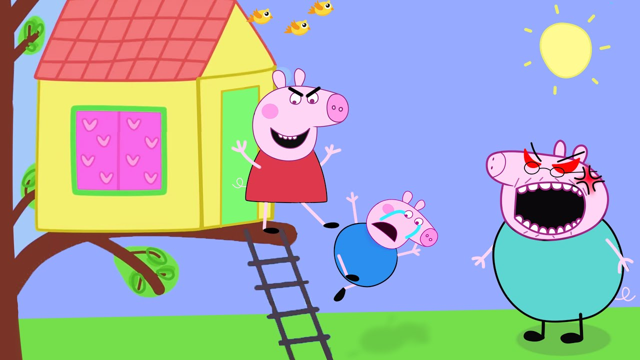 Download Peppa Pig's House - Peppa and Roblox Piggy Funny Animation Parody