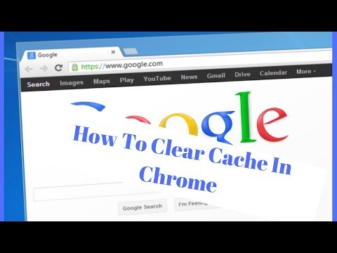 How To Clear Cache In Chrome - Remove Google Chrome History Clear Browsing Data (2018)