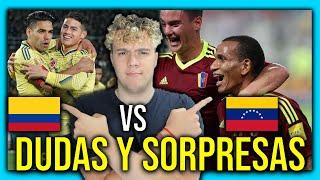 🇨🇴 COLOMBIA vs VENEZUELA 🇻🇪 ELIMINATORIAS SUDAMERICANAS QATAR 2022 🏆 PREDICCION & ANALISIS