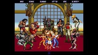 Streets Of Rage 2 прохождение Сo Op Mania U Игра на SEGA Genesis Mega Drive 1992 Стрим RUS