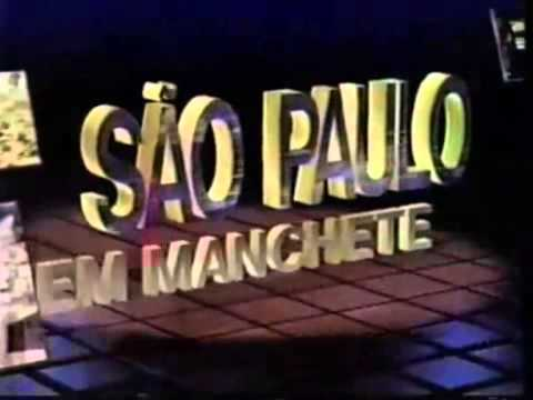 (TRECHO) Vinheta São Paulo Em Manchete - Manchete (1995-1996)