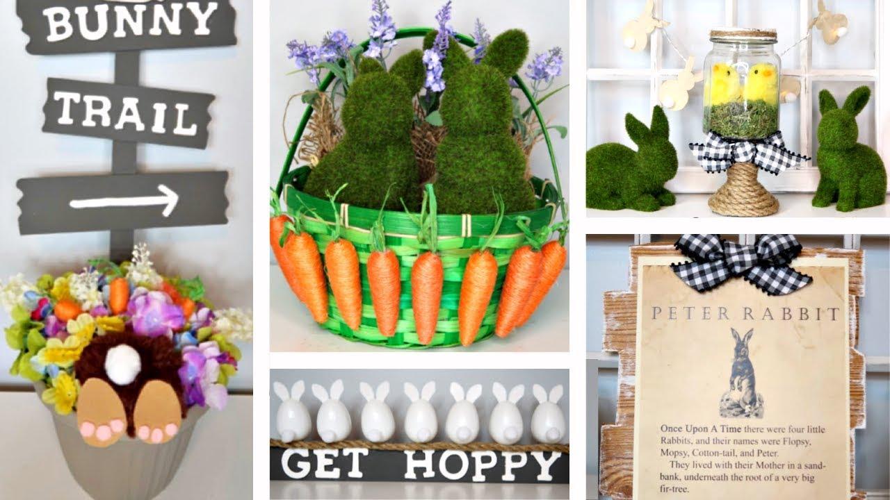 Dollar Tree Diys Easter Spring 5 Fun Ideas Youtube