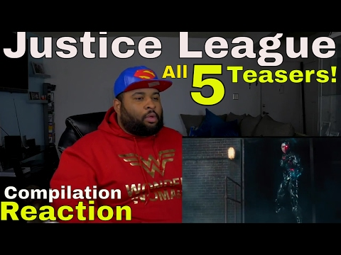 Justice League Teaser compilation Reaction - All 5 Teasers / Epic Discussion!