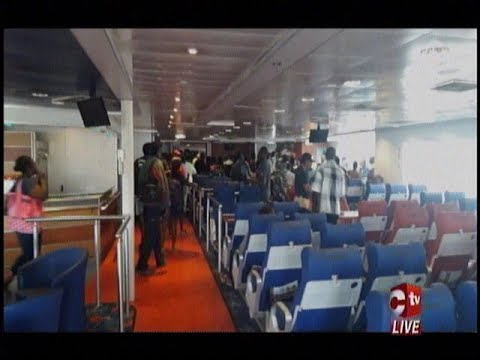 T&T Spirit Passengers Stranded Outside Port Of Spain As Vessel Has Berthing Problems