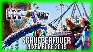Schueberfouer 2019 luxemburg / schobermesse luxembourg - impressionen aller fahrgeschäfte. highlights der kirmes: alpina bahn, bayern kurve, circus circ...