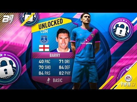 THE RAREST CARD IN FIFA 17! (SBC GARETH BARRY UNLOCK)