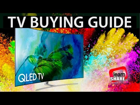 TV Buying Guide 2018  HDR 4K TVs, OLED, LCDLED, IPS, VA Screens