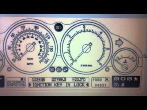 Landrover Range Rover Dashboard Warning Lights & Symbols - What They Mean