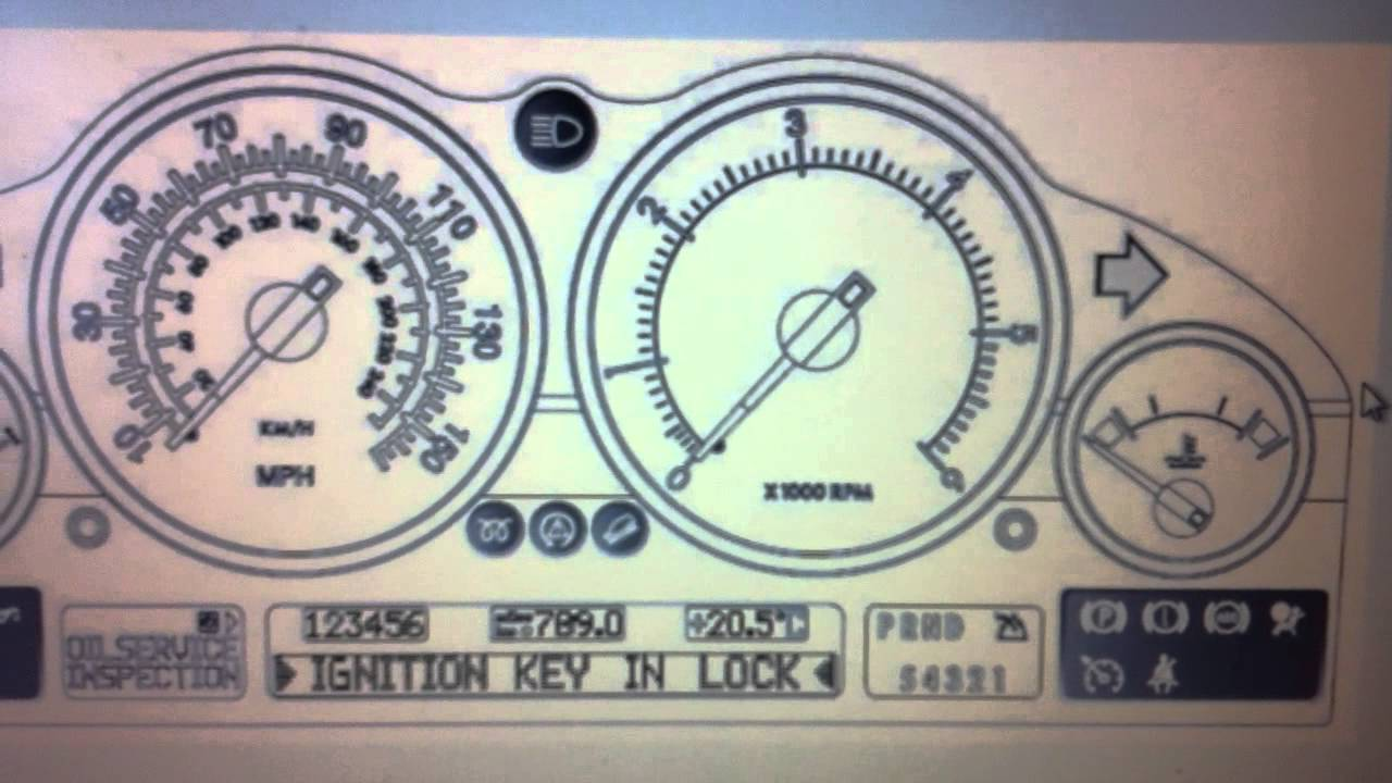 Landrover Range Rover Dashboard Warning Lights Symbols What They