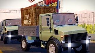 Pop Goes The Weasel | Speedies Car Cartoons For Kids