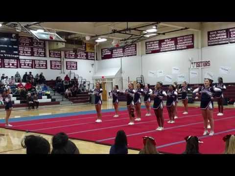 Eastern High School Cheerleading 2016