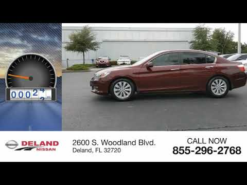 2015 Honda Accord Sedan DeLand Nissan W225557A