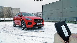Jaguar E-Pace P250 2.0 250 Hp Test Pov Drive & Walkaround