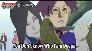 The Greatest Ability of Legendary Sannin | Boruto, Sarada, Orochimaru vs Deepa