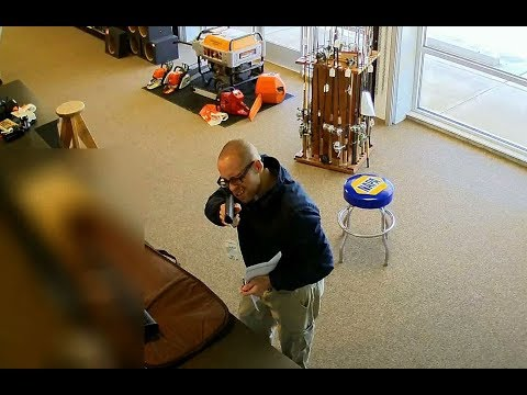 Surveillance video shows UCC shooter purchasing handgun two days before attack