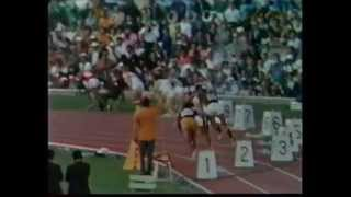 200m(WR)Smith/Norman/Carlos:1968 Olympics,Mexico City