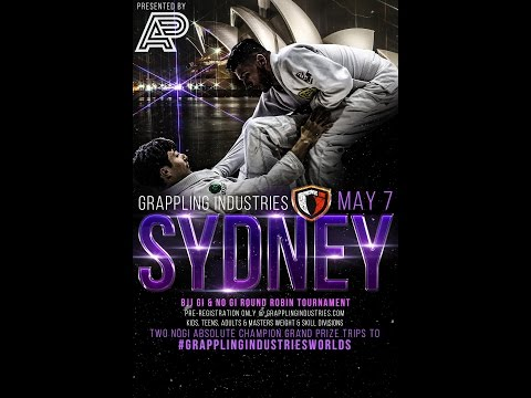 Grappling Industries Sydney Comp - BJJ Bow & Arrow WIN