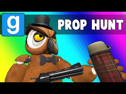 Thumbnail: Gmod Prop Hunt - Five Nights at Vanoss's (Garry's Mod Funny Moments)